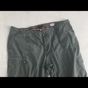 Tommy Hilfiger Pants - Tommy Hilfiger Cargo Pants Utility Army Green 16